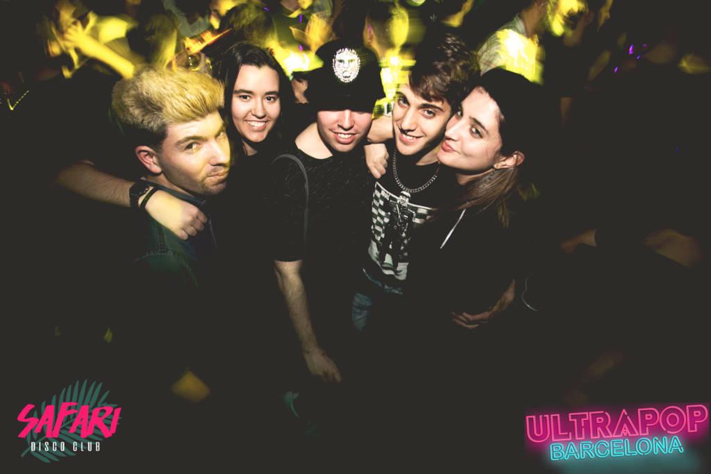 Ultrapop Barcelona 17 febrero 2017 Sala Safari
