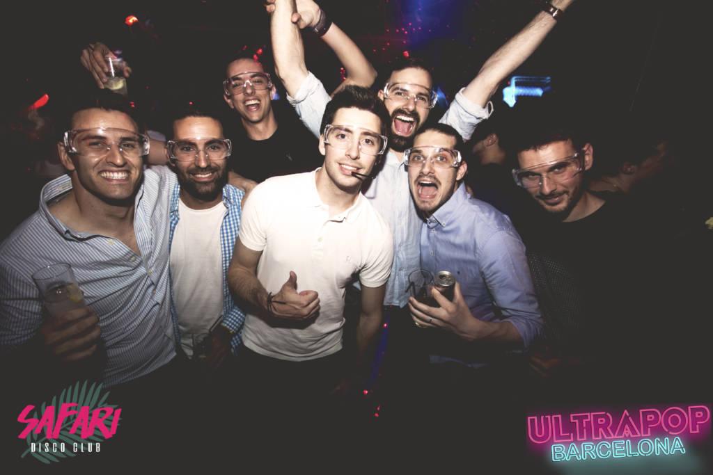 Foto Ultrapop Barcelona 13 mayo 17 sala safari disco club barcelona