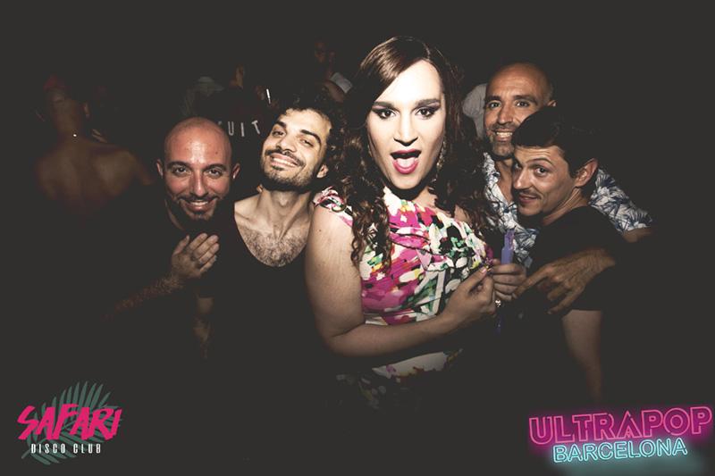 Foto Ultrapop Barcelona Sala Safari Disco Club Barcelona 27 mayo 2017